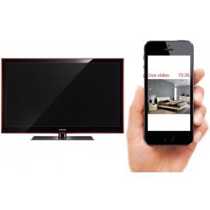 Microcamera wi-fi televisione